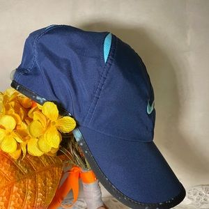 Nike Accessories - Nike Navy Blue Feather Light Cap Hat Dri Fit